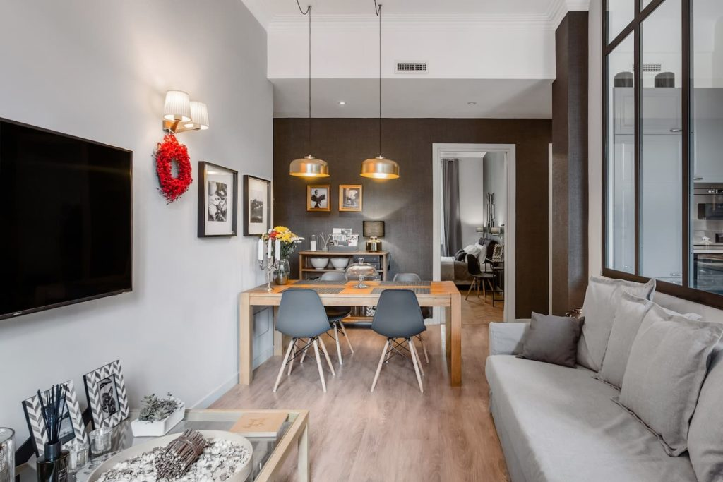 Airbnb à Turin : Appartement chic en location.