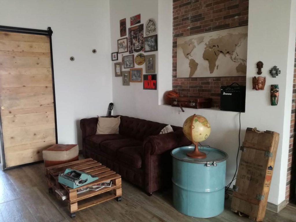 Airbnb à Turin : Appart de style industriel dans le quartier étudiant de Vanchiglia.
