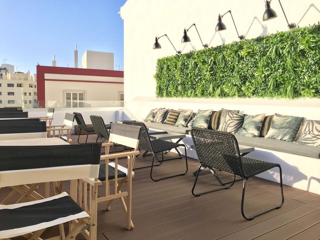 Rooftop pour prendre l'air dans l'hôtel Alameda Exclusive House à Faro