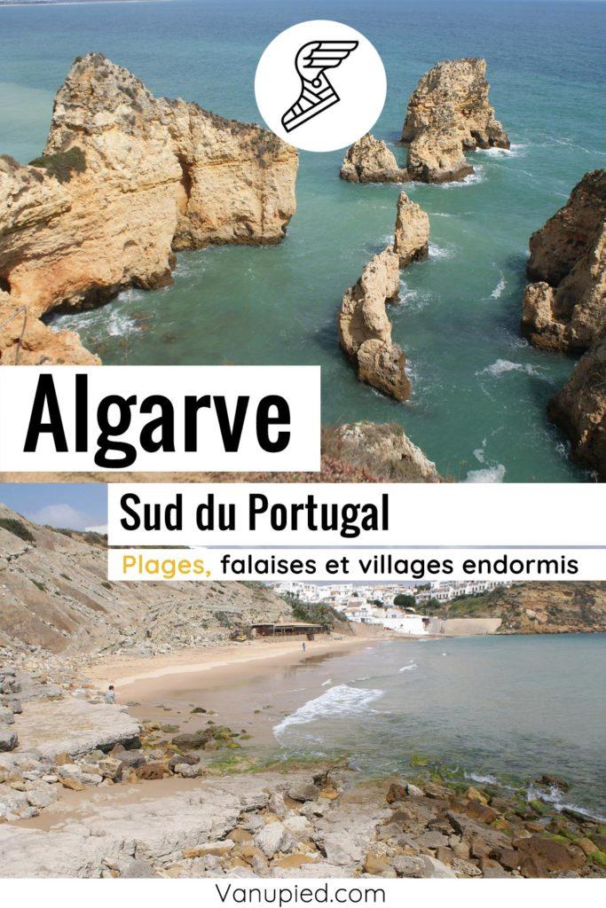Préparation voyage en Algarve au sud du Portugal.