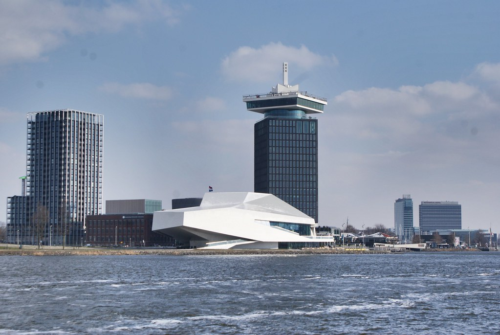 Overhoeks, le spectaculaire nord d'Amsterdam