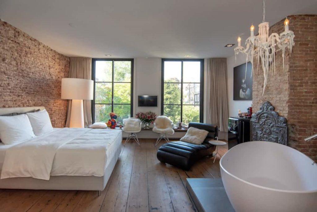 Airbnb à Amsterdam : Appartement chic en location.