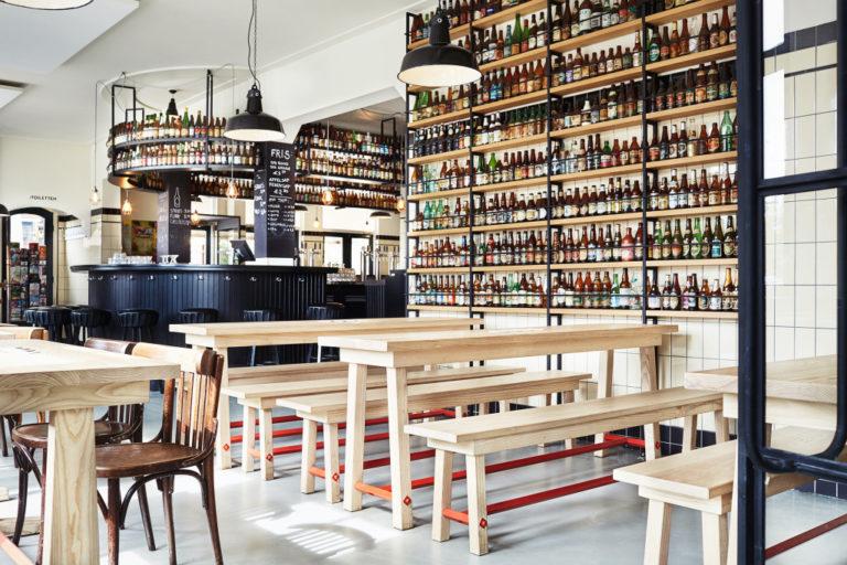 A l'intérieur de la brasserie du Brouwerij't Ij à Amsterdam– Photo de Philip Jintes / Pubblik & Vos