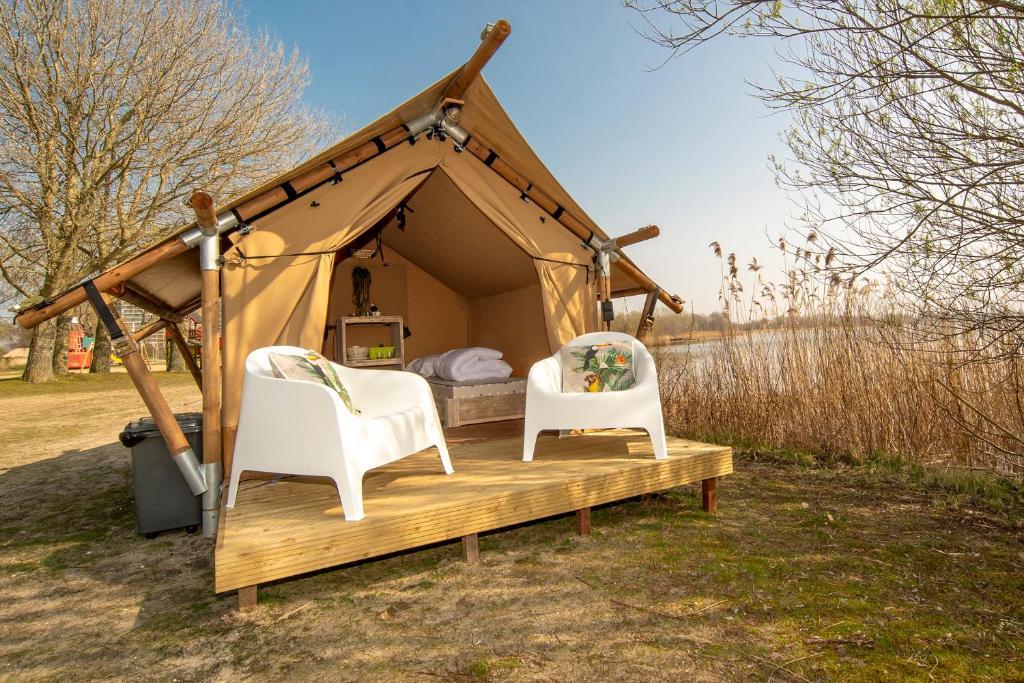 Marinaparcs, camping à Amsterdam ou près d'Amsterdam.