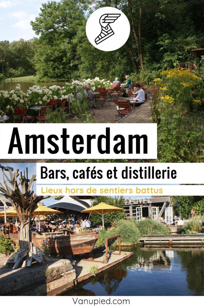 Bars et cafés d'Amsterdam : Lieux originaux, sympas et agréables