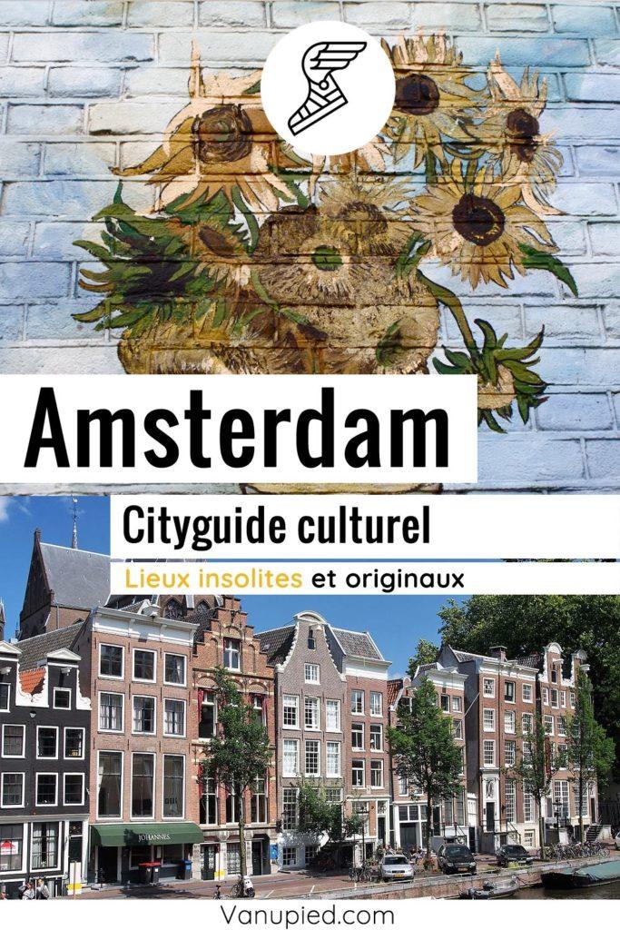 City-guide d'Amsterdam : Curieux et complet !