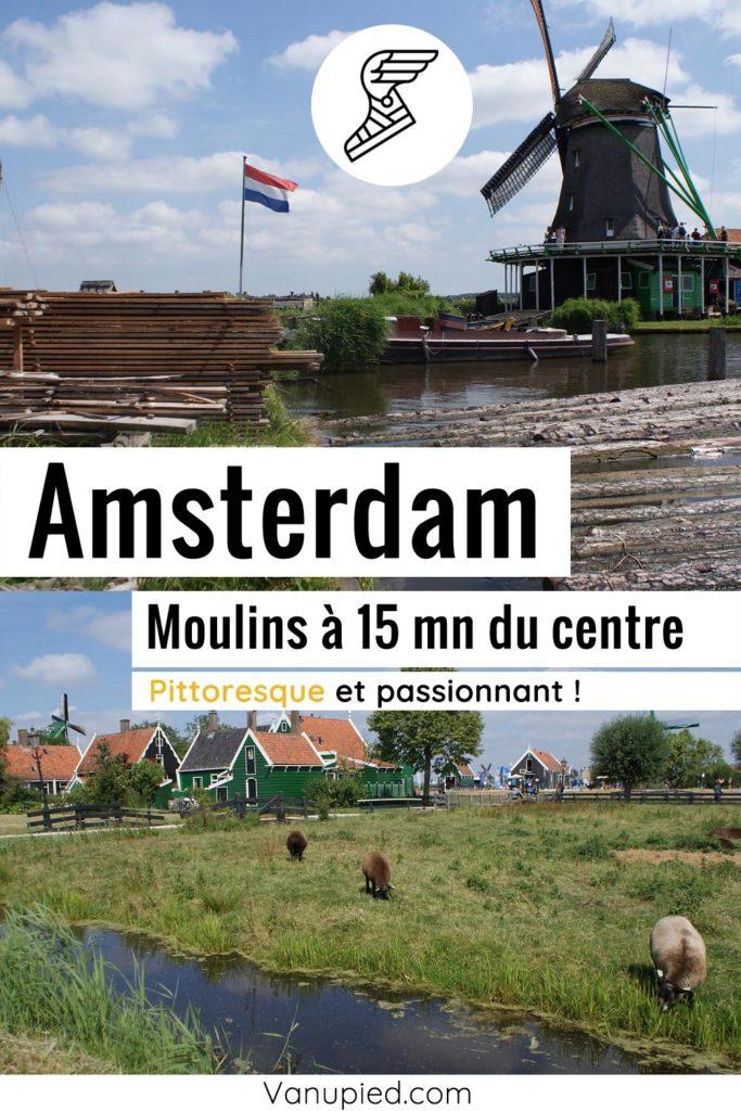Moulins à 15 minutes d'Amsterdam
