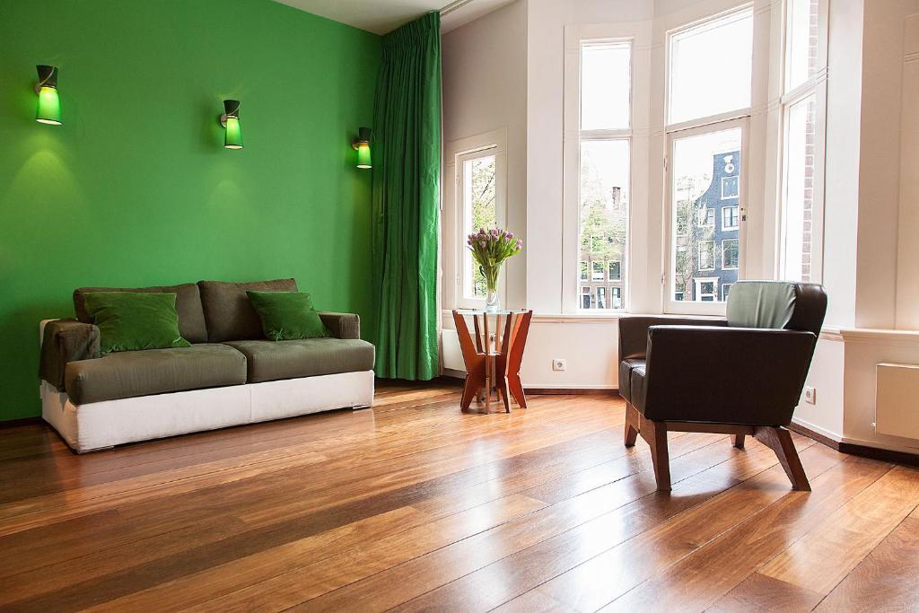 Prisenhuis, appartement en location dans le quartier des canaux à Amsterdam.