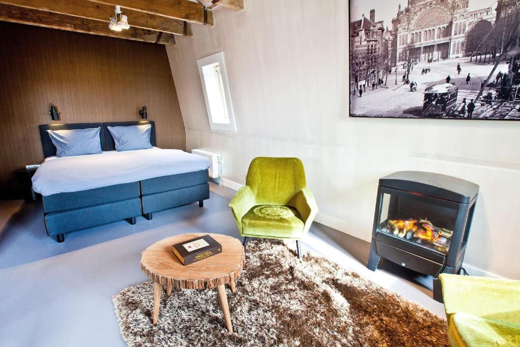 V Loft, appartement en location à Amsterdam.