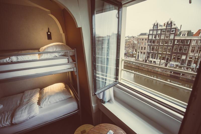 Auberge Budget Hotel Tourist Inn, hotel à Amsterdam.