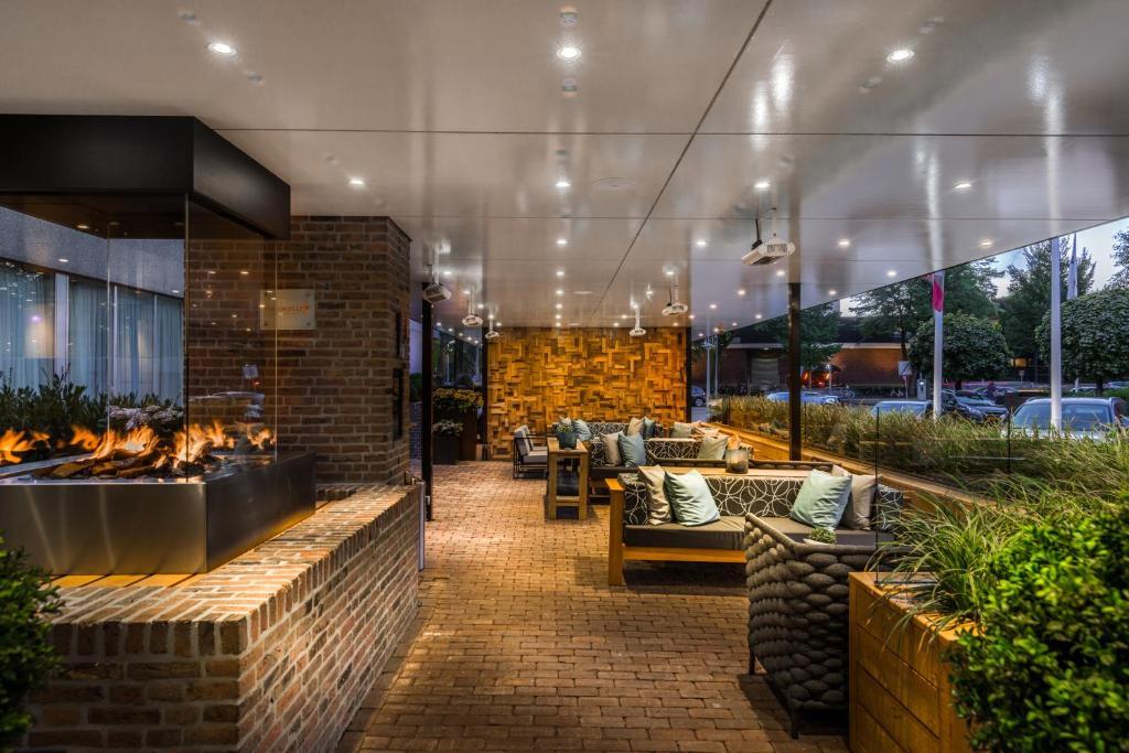 Bilderberg Garden Hotel entre le quartier des musées et celui De Pijp à Amsterdam.