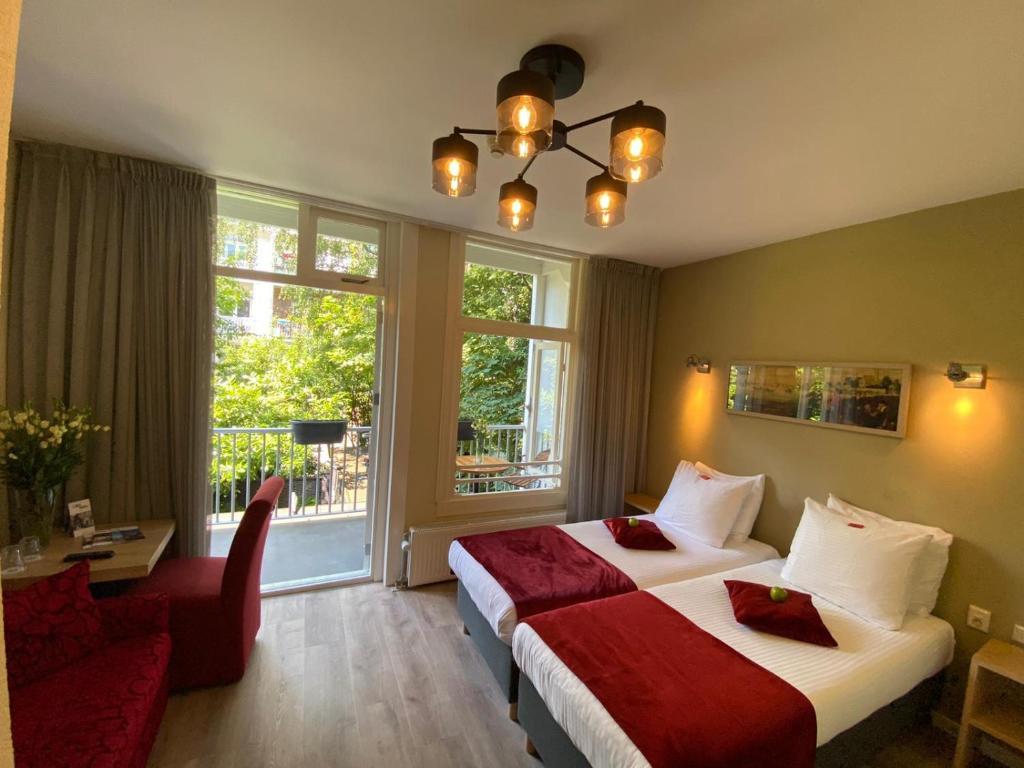 Alp Hotel, hotel fumeur à Amsterdam.