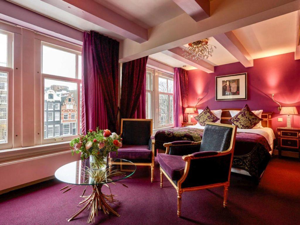 Ambassade Hotel, hôtel de luxe à Amsterdam.