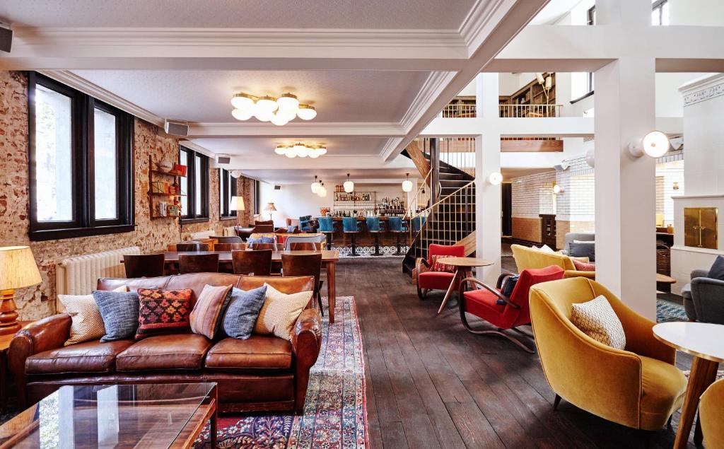 The Hoxton Hotel, hôtel dans le quartier des canaux à Amsterdam.