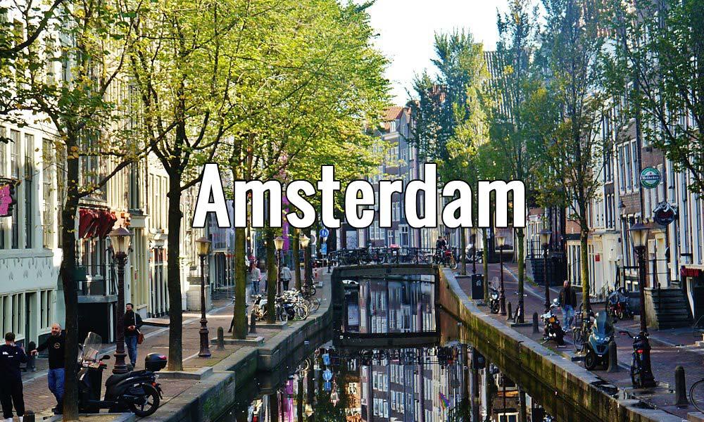 Visiter Amsterdam aux Pays-Bas pendant un week-end ou plus. Photo de Zairon