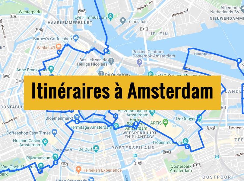 Itinéraires à Amsterdam aux Pays-bas pour un week-end de 2, 3 jours ou plus.