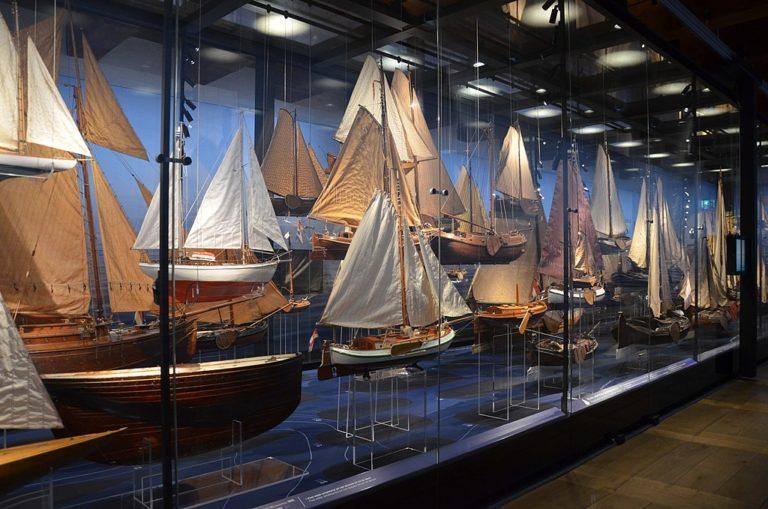 A l'intérieur du musée de la marine à Amsterdam - Photo de Steven Lek