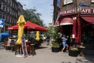 Pijp à Amsterdam, quartier «populaire» et bon vivant