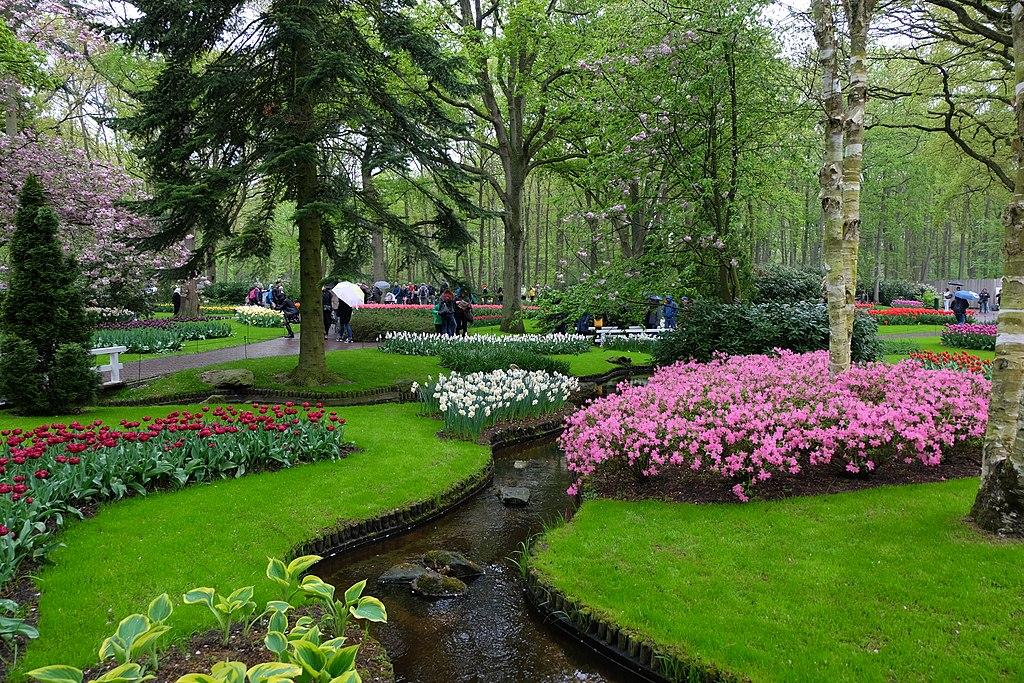 Jardin de Keukenhof près d'Amsterdam aux Pays-Bas au printemps - Photo de Julien Chatelain