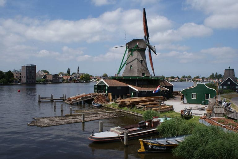 Moulin-scierie près d'Amsterdam, un musée atelier à ne surtout pas rater.