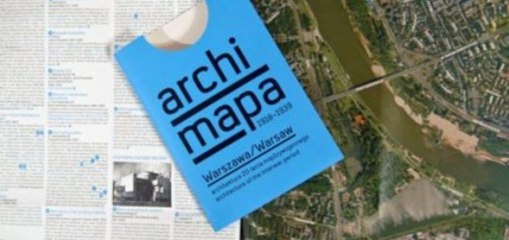 Archimapa : Architecture et carte de Varsovie