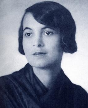Böhm Aranka, médecin juive hongroise assassinée à Auschwitz.