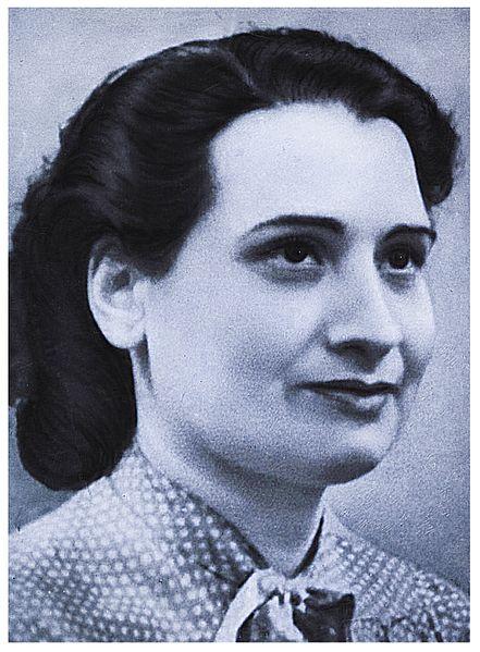 Danielle Casanova, militante politique française morte du Typhus à Auschwitz.