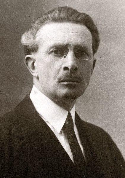 Ludwik Puget, sculpteur, peintre et historien de l'art polonais d'origine française assassiné à Auschwitz.