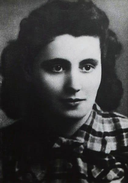 Mala Zimetbaum, résistance juive polonaise assassinée à Auschwitz après une évasion réussie du camp avec son amant polonais.