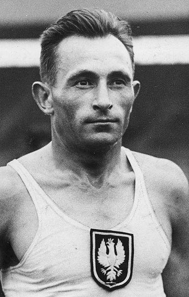 Jozef Noji, athlète et coureur de fond polonais assassiné à Auschwitz.