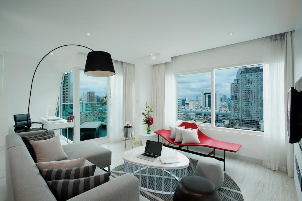 Luxe et modernité au Centara Watergate Pavillion Hotel Bangkok.