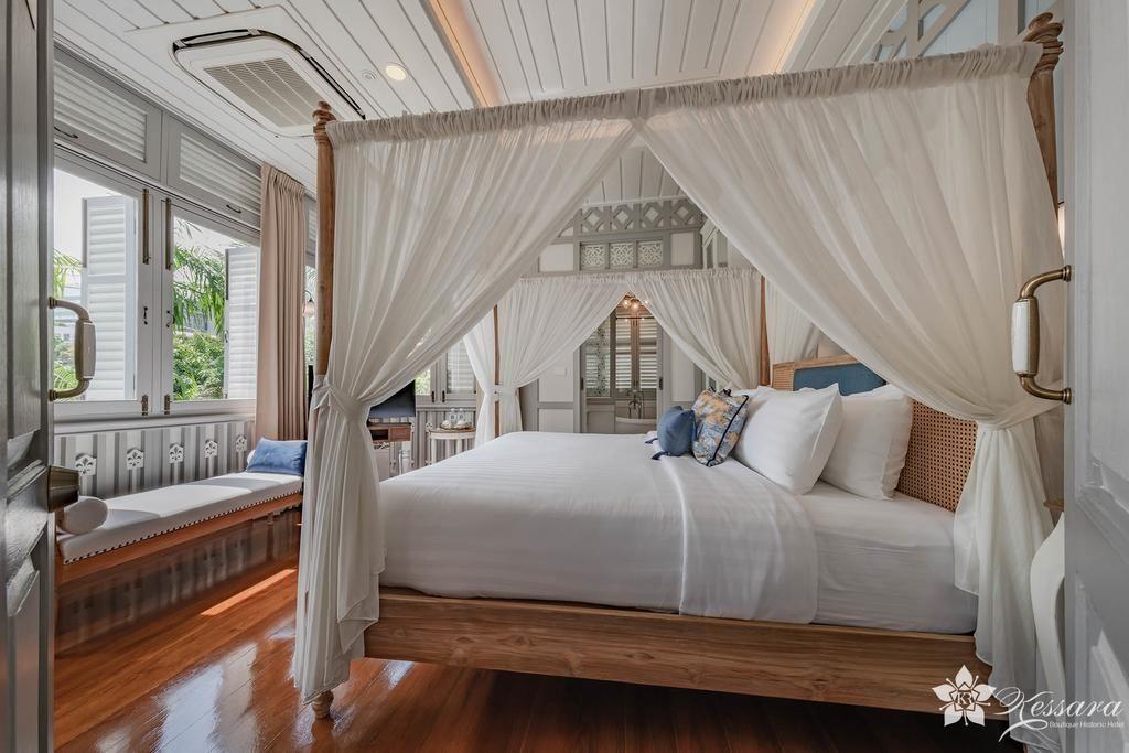 Luxe, calme et volupté dans le superbe Kessara Hotel à Bangkok.