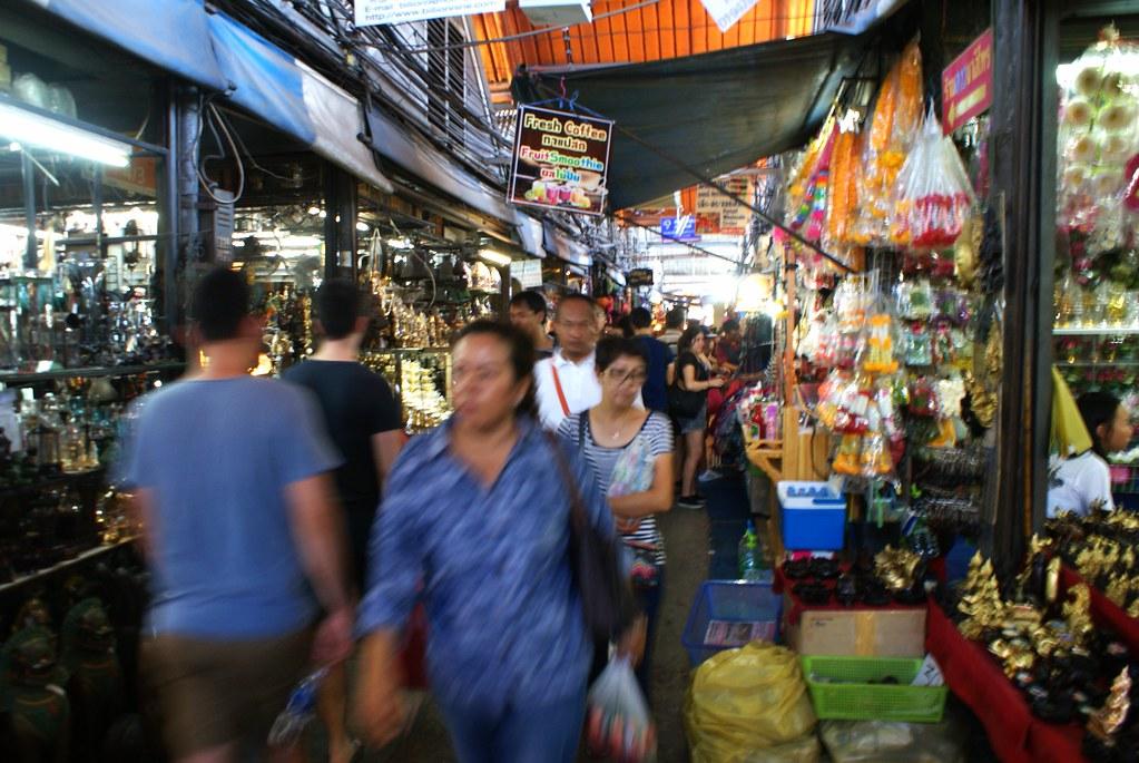 L'incroyable marché de Chatuchak à Bangkok [Chatuchak]