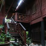 Musée Jim Thompson à Bangkok : Art deco et soie [Pathum Wam]