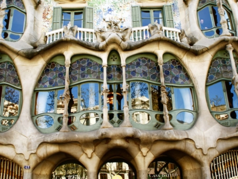 Carte De Tourisme Lieux Du Guide Barcelone