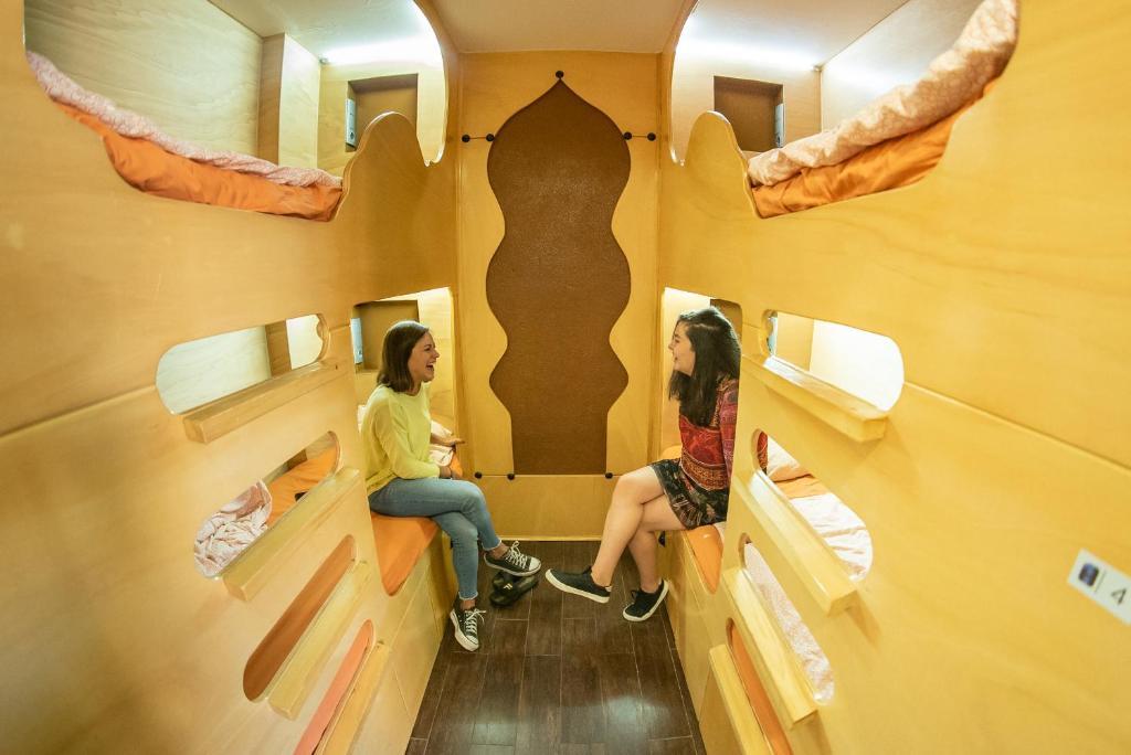 Hostel One Paralel, auberge de jeunesse à Barcelone.