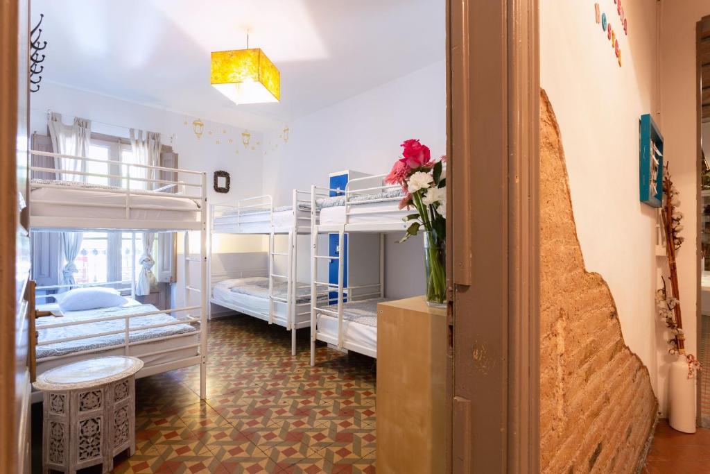 Primavera Hostel, auberge de jeunesse à Barcelone.