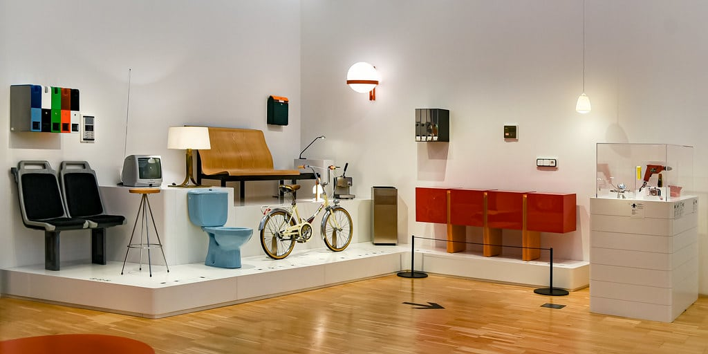 Dans le musée du design dans le quartier d'Eixample à Barcelone - Photo de Jorge Franganillo