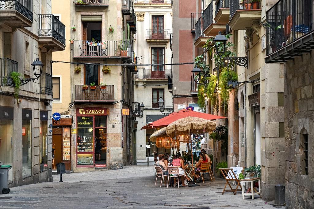 Dans la Vieille Ville de Barcelone (Gotico ?) - Photo de Jorge Franganillo