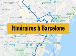 Visiter Barcelone en 2 jours : Itinéraire de balade à télécharger