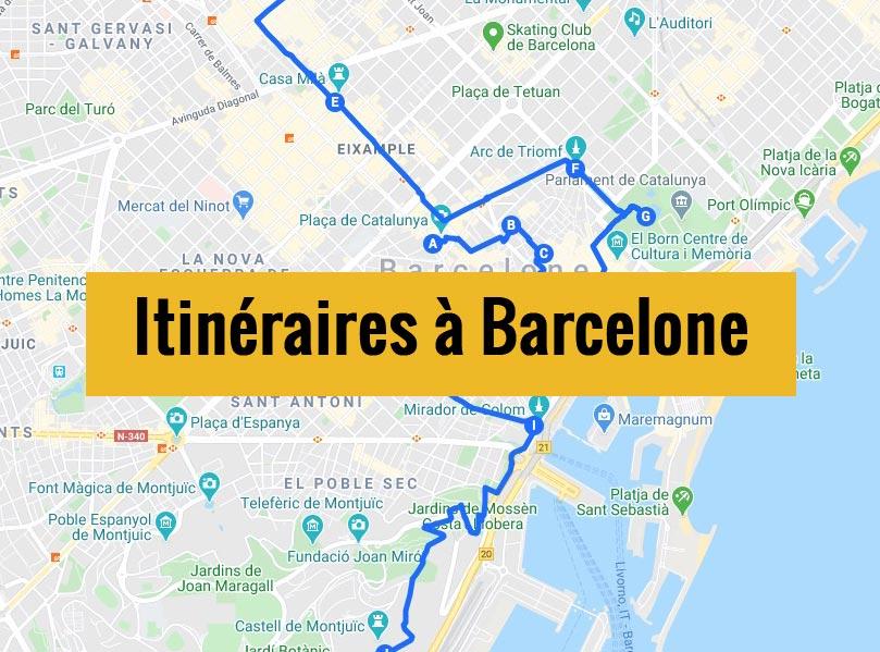Itinéraires à Barcelone pour un week-end chouette de 2, 3 jours ou plus