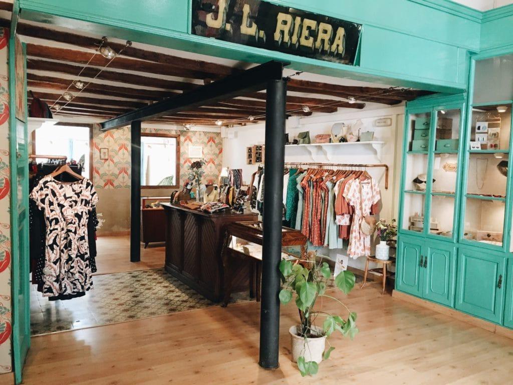 Ladyloquita, boutique de mode pour femme à Barcelone.