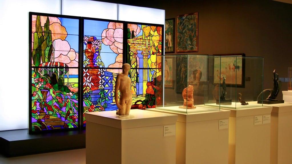 Dans le musée MNAC dans le quartier Montjuic à Barcelone - Photo de Jorge Franganillo