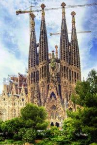 Sagrada Familia à Barcelone, l'église de Gaudi toujours en construction [Eixample]