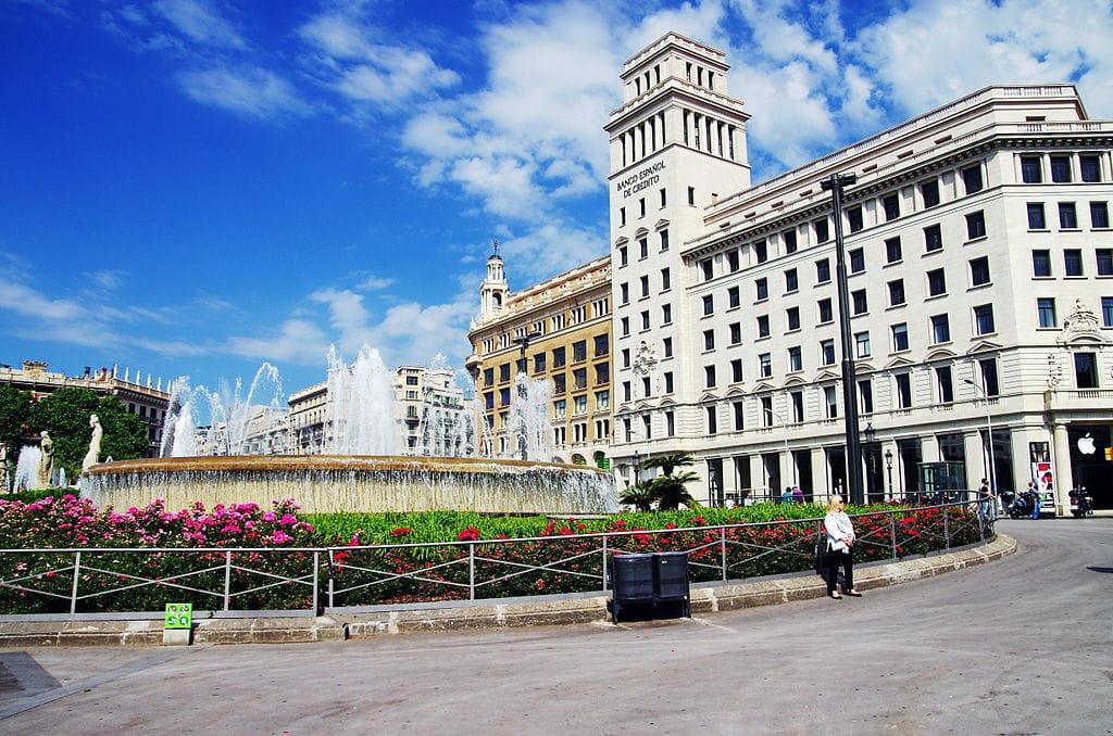 Plaza Catalunya à Barcelone - Photo de Balou46