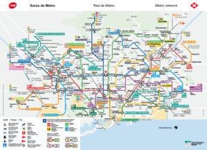 Transport en commun à Barcelone : Métro, bus, tramway