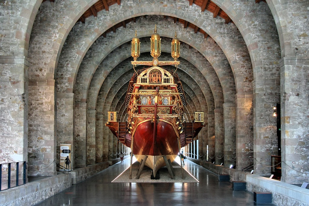 Musée de la marine dans l'ancien arsenal et chantier naval de Barcelone - Photo de Jorge Franganillo