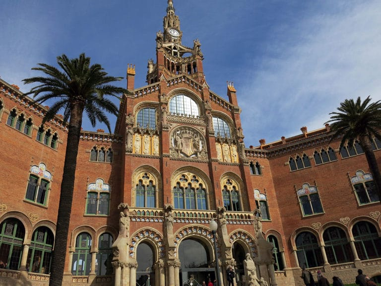 Hôpital Art nouveau de Sant Pau à Barcelone - Photo d'Enfo.