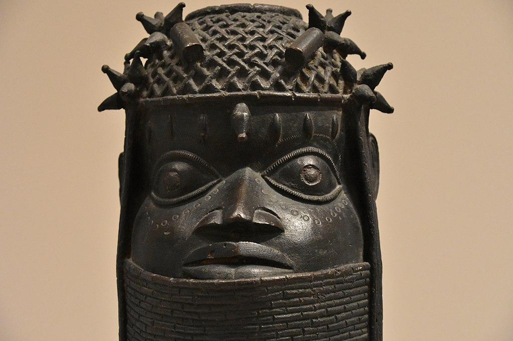 Artefact du Benin (vers 1700) au Museum Berggruen dans le quartier de Charlottenburg à Berlin - Photo de Richard Mortel