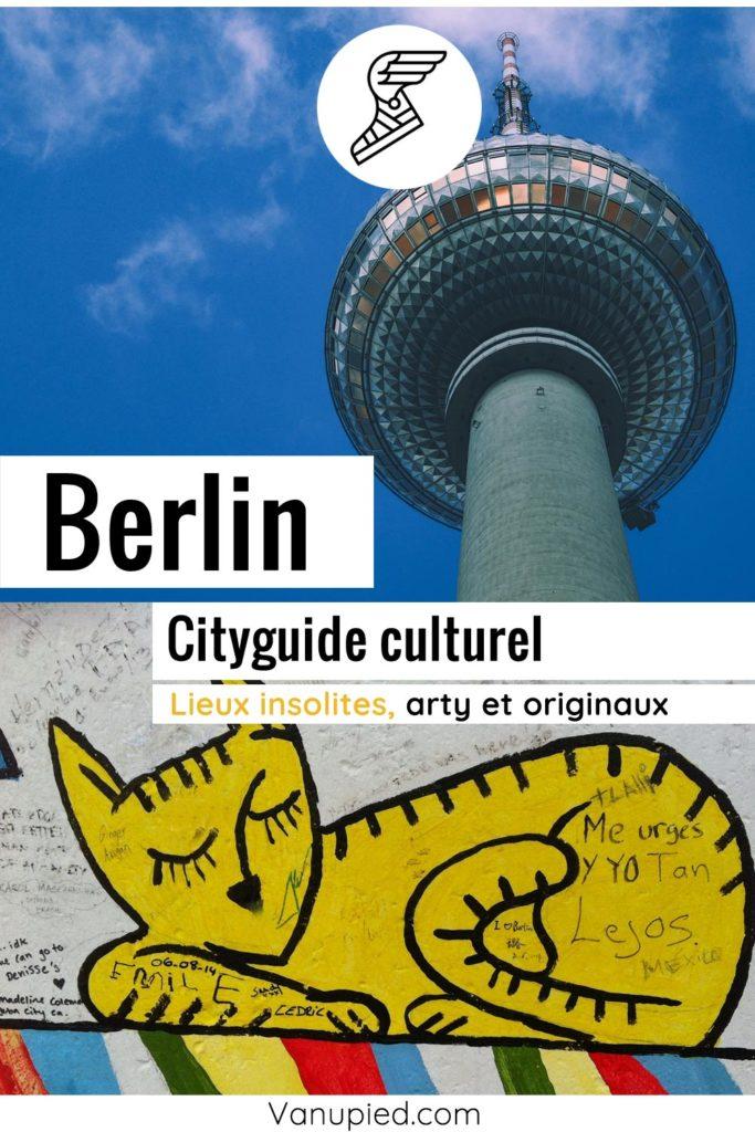 City-guide culturel de Berlin : Curieux et complet !